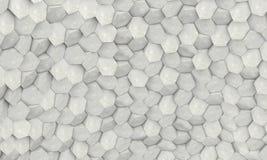 Hexagon geometrische achtergrond Royalty-vrije Stock Afbeeldingen
