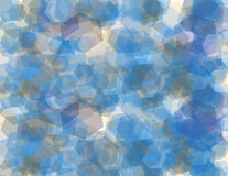 Hexagon-geometrisches Muster Lizenzfreie Stockbilder