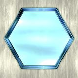 Hexagon Royalty Free Stock Photography