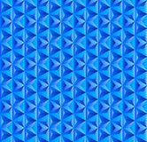Seamless Blue Triangular Pattern for Abstract Background vector illustration