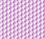 Hexagon Grid Pattern Seamless Vector Background SVG Stock