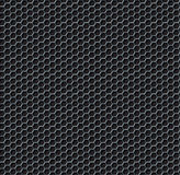 Hexagon grid seamless background Stock Images