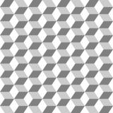 Grid from hexagons seamless monochrome background stock illustration