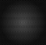 Hexagon grid. Seamless pattern, metal grid with hexagonal holes Stock Photography