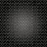 Hexagon grid texture Stock Photos