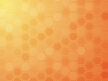 Hexagon grid wallpaper Royalty Free Stock Image