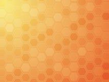 Hexagon grid wallpaper Royalty Free Stock Image