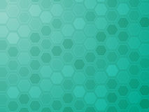 Hexagon grid wallpaper Royalty Free Stock Photo