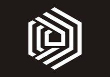 Initial D Logo stock illustration