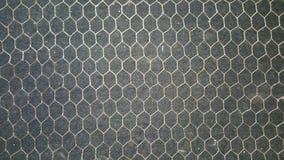 Hexagon kaderontwerp Stock Fotografie