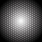 Hexagon lights Stock Image