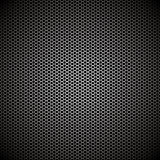 Hexagon metal background Stock Photo