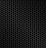 Hexagon metal background Stock Photos