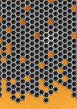 Hexagon Metal Background. Stock Images