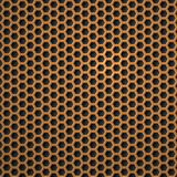 Hexagon Metal Background. Royalty Free Stock Photos