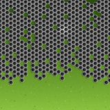 Hexagon Metal Background. Royalty Free Stock Images