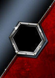 Hexagon Modern Business Background Stock Image