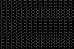 Hexagon-Muster stock abbildung