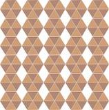 Hexagon naadloos herhaalt patroon vector illustratie