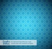 Hexagon naadloos patroon Stock Foto