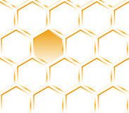 Hexagon orange texture. Pattern. Orange honeycomb. Hexagon pattern. Texture Royalty Free Stock Images