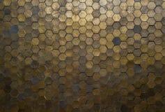Hexagon patroon Royalty-vrije Stock Afbeeldingen