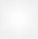 Hexagon Witte Achtergrond Royalty-vrije Stock Foto's