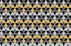 Hexagon patroonachtergrond Stock Foto