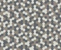 Hexagon patroonachtergrond Stock Afbeelding