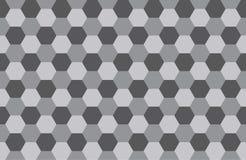 Hexagon patroonachtergrond Stock Fotografie