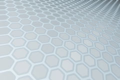Hexagon Pattern Stock Photography