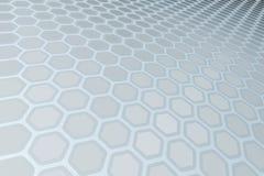 Hexagon Pattern Stock Photography