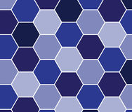 Hexagon pattern background for your design Royalty Free Stock Images
