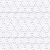 Hexagon line seamless pattern, Star pattern background, White pattern background, Vector royalty free illustration