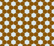 Hexagon pattern seamless. Royalty Free Stock Photography