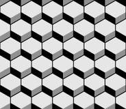 Hexagon pattern texture. Vector illustration Stock Photos