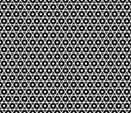 Hexagon pattern. Texture with small hexagons. Vector monochrome seamless pattern. Simple dark modern geometric texture with small hexagons. Hexagonal grid Stock Images