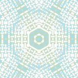 Hexagon pattern white pastel blue green Royalty Free Stock Photography