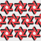 Hexagon patterned background design Royalty Free Stock Photography