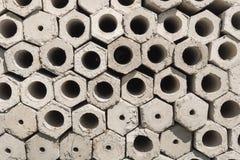 Hexagon pile Royalty Free Stock Photo