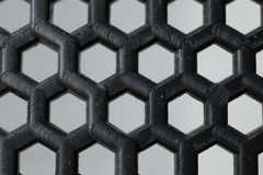 Hexagon plastic Stock Photography