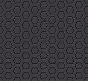 Hexagon seamless background Royalty Free Stock Photography