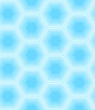 Hexagon seamless pattern Stock Images