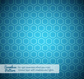 Hexagon seamless pattern Stock Photo