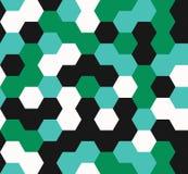 Hexagon seamless pattern. geometric background royalty free illustration