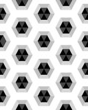 Hexagon seamless pattern Stock Image