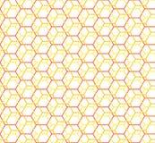 Hexagon seamless pattern vector illustration