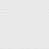 Hexagon seamless vector texture. Hexagonal grid repeat pattern. Geometric seamless pattern monochrome structure, graphic hexagon repeat background illustration royalty free illustration