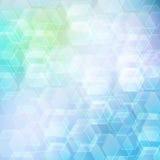 Hexagon shape bokeh with  art. Hexagon shape bokeh texture background with  art Stock Photos