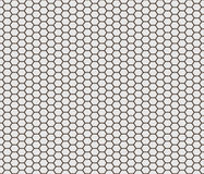 Hexagon shape tiles Stock Photography